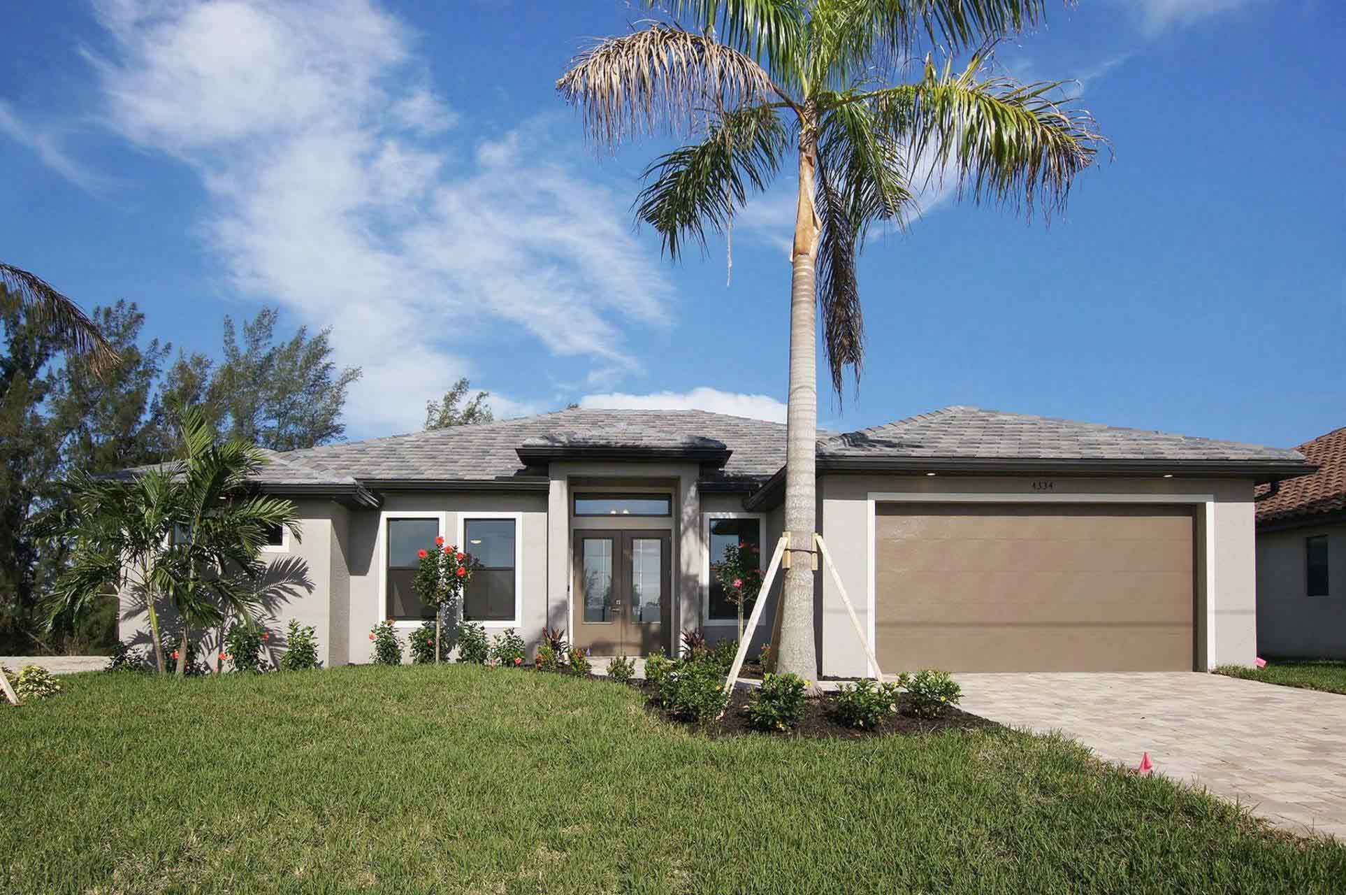 Großes Haus in Cape Coral Vorderseite