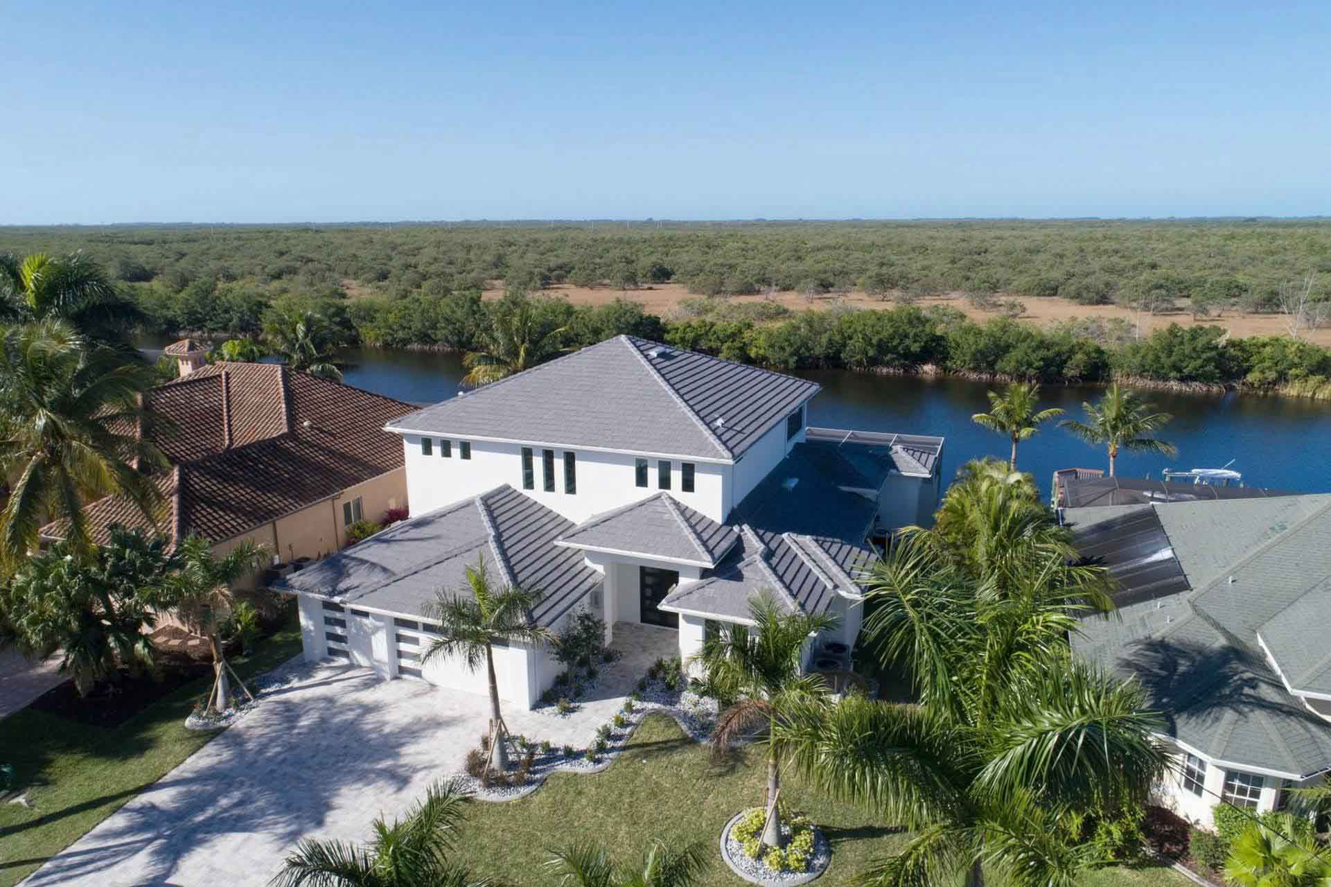 Blick auf Renditeimmobilien in Cape Coral